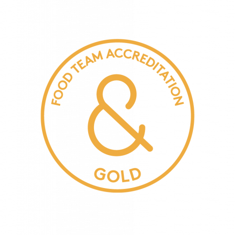food accreditation gold